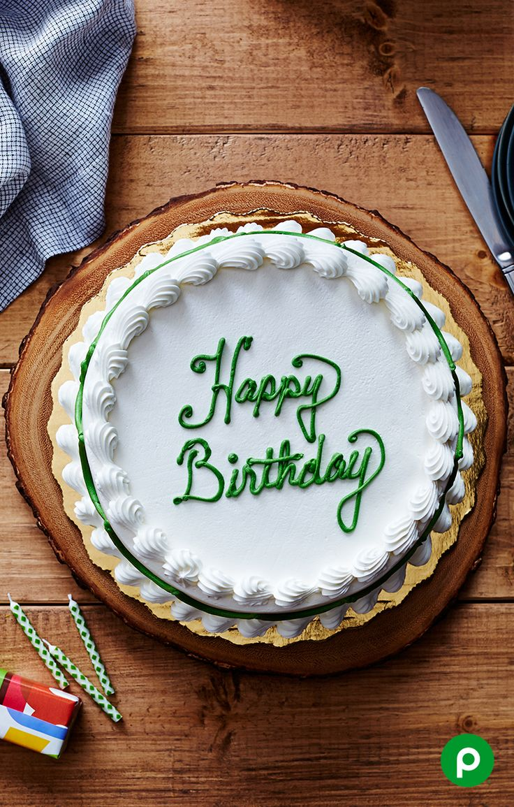 It's more than a cake. It's their cake. And it's their day, so make it special with a custom cake from the Publix Bakery.
