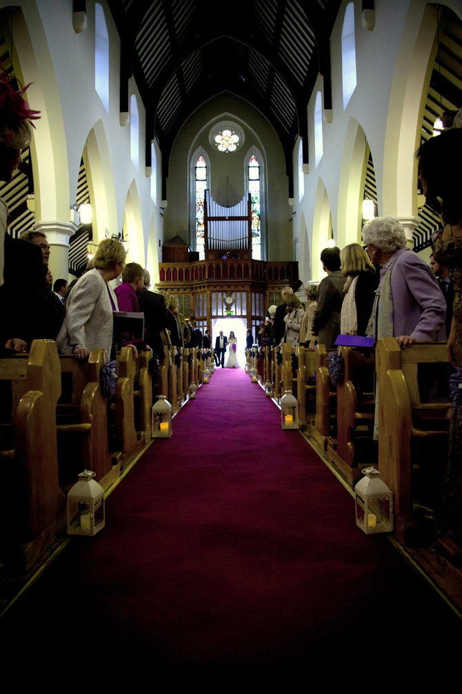 Candle lines Aisle Photo by Julie Cummins via WOL