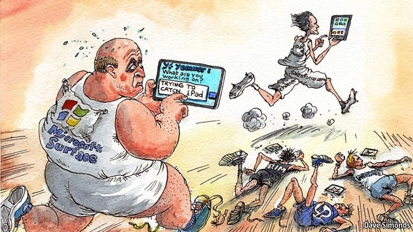 Microsoft in pursuit (1): Social whirl | The Economist
