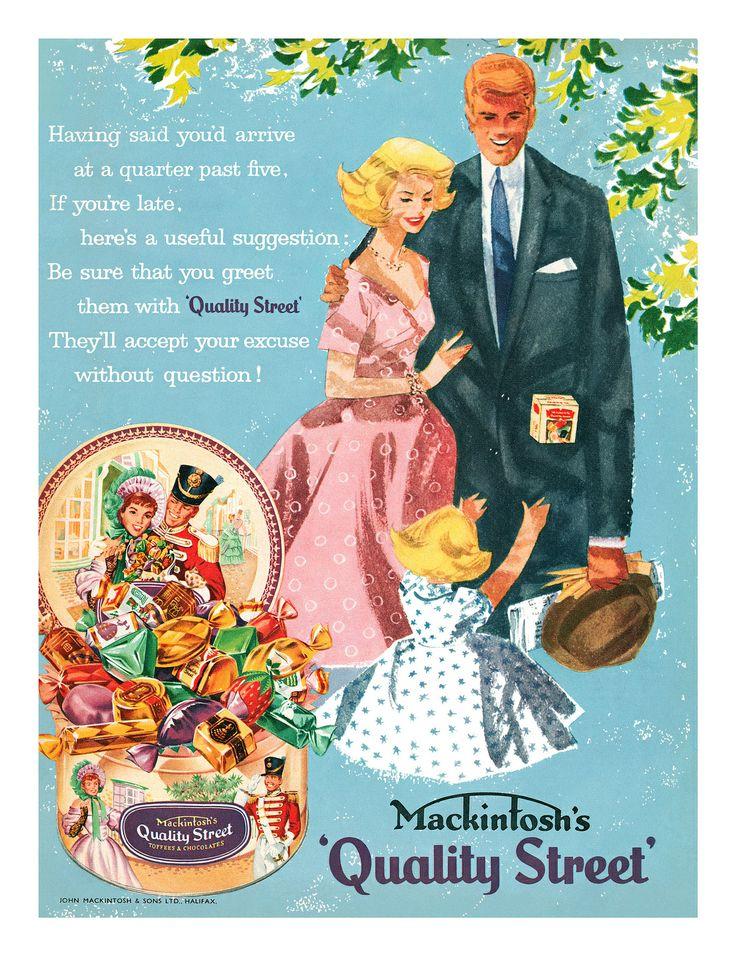 1958 Quality Street ad