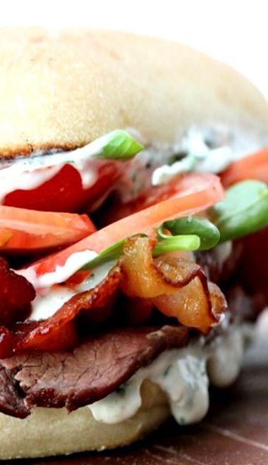 Steak Club Sandwich.... ♥♥ ....