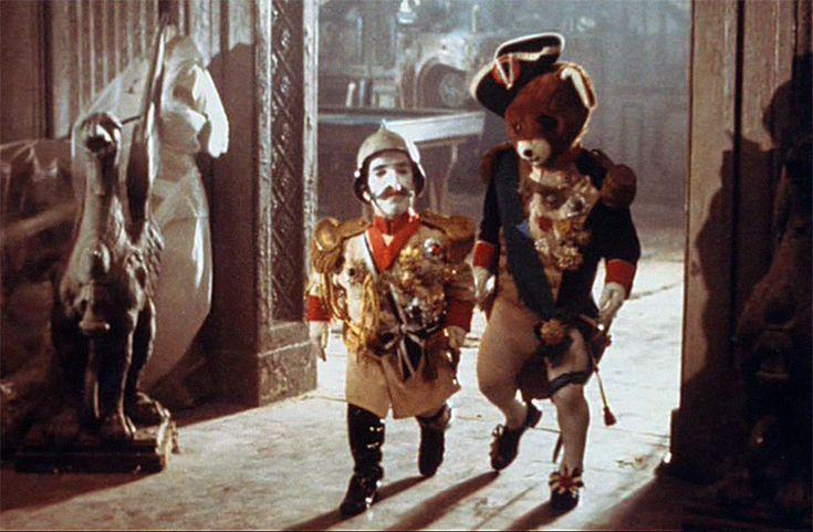 FUTURE NOIR - Sebastian's dolls - Kaiser Wilhelm (played by John...
