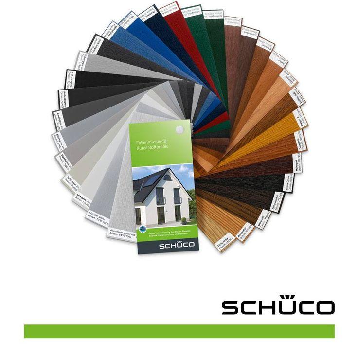Vesti la tua casa di colore con le finestre in PVC Schüco: scegli le texture più vivaci tra le tante pellicole di rivestimento disponibili