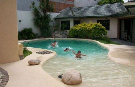 Piscinas de arena compactada piscinas piscinas Piscina arena compactada