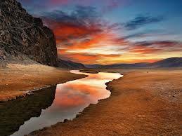 Deserto tramonto
