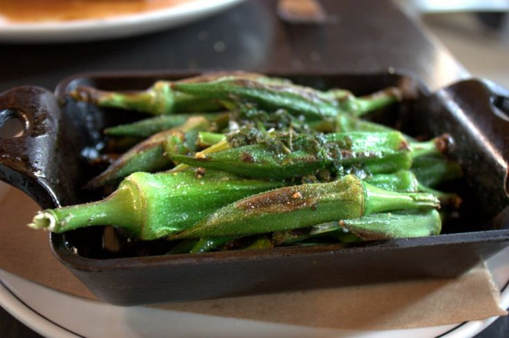 This recipe for bhindi masala will turn you into an okra believer. #okra #vegetables