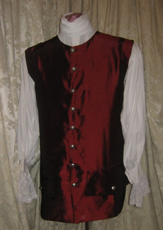 18th Century - Mens Vest: But West, Costumes Vest I, Century Men, Century Style, Style Costumes, Costumes Concept, 19Th Century, Men 18Th, 18Th Century