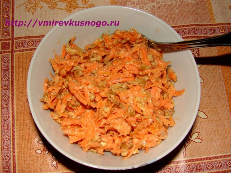 Салат из орехов сыроедение