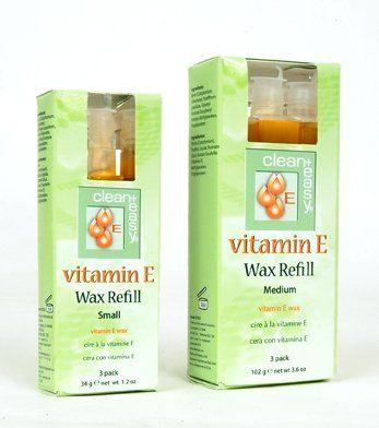 C+E Vitamin E Wax Refills, Medium (bikini) Vitamin E