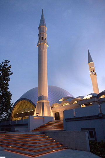 Modern and contemporary mosque designed by women in Turkey