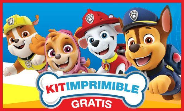 Kit De Calidad Premium Descarga Gratis El Kit Imprimible De Imprimibles Gratis Paw Patrol Imprimibles Editables Gratis Tarjetas De Cumpleanos Para Imprimir
