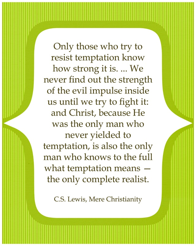 christianity what is temptation essay We will write a custom essay sample on christianity essay examples specifically for you order now the great commission to worship.