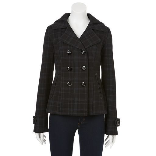 Sebby outerwear at Kohl's - Shop our full line of women's outerwear,  including this Sebby Hooded Solid Fleece Peacoat - Women's, at Kohl's.