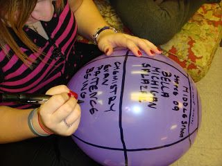 Balloon Faith!  A creative way to discuss with high school and middle school kids how God is with us all the time, even though we can't physically see or touch him!