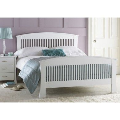 The frame of the Hyder Hampton Bed is styles with curved legs and head board to give it a different feel fro that of most bed of similar style.