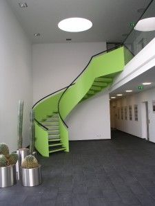 Wendeltreppe aus Stahl - http://www.abel-treppen.de - helical staircase, iron staircase
