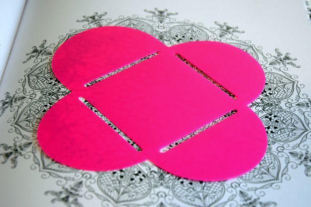 Enveloppen maken van kleurplaten