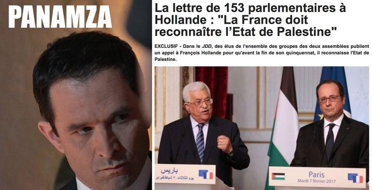 Dans son édition du 26 février 2017, le Journal du Dimanche publie une lettre co-signée par 153 députés et sénateurs demandant solennellement à François Hollande de reconnaître l'État de Palestine avant la fin de son mandat {http://www.lejdd.fr/…/La-lettre-de-153-parlementaires-a-Hol……}. Absen...