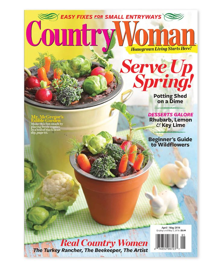 Country Woman Magazine Subscription by Mailbox Must-Haves #zulily #zulilyfinds