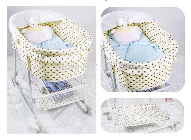 Горячая распродажа новый детские товары складной портативный новорожденный ребенок кровать детская кроватка детская кроватка колыбели бесплатная доставка