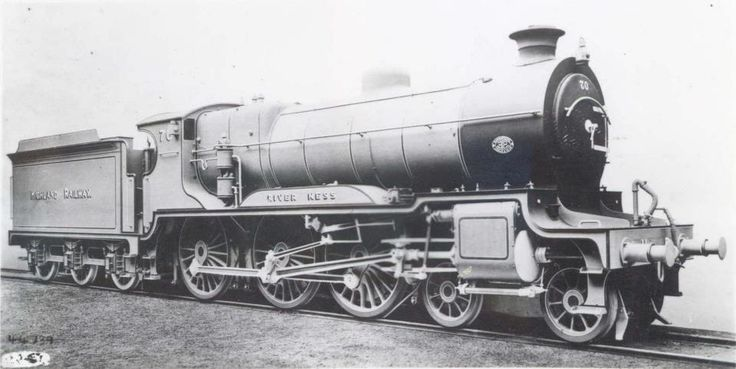 In September 1915, the Highland Railway took delivery of two new locomotives - 'River Ness' and 'River Tay'. It quickly became apparent that they were too heavy to run on much of the company's track and both engines, along with four more which had been ordered, were sold to the Caledonian Railway. Frederick Smith, the Highland's Chief Mechanical Engineer, was forced to resign over the debacle