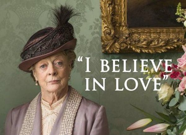 Violet on Downton Abbey