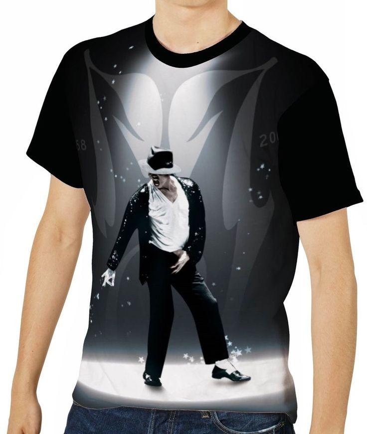 Mens Retro 80/'s T-Shirt ET Alien Movie Film Top MJ Tee Michael Jackson With E.T