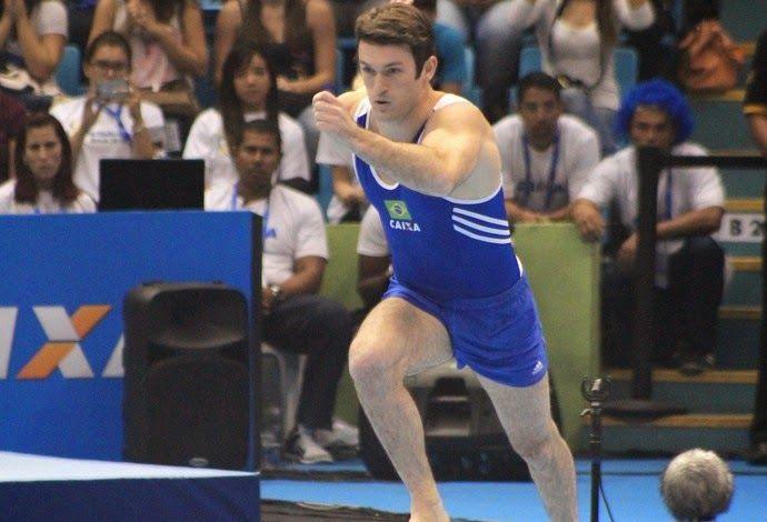 Blog Esportivo do Suíço:  Diego Hypolito fica atrás de chileno e leva a prata no solo em SP