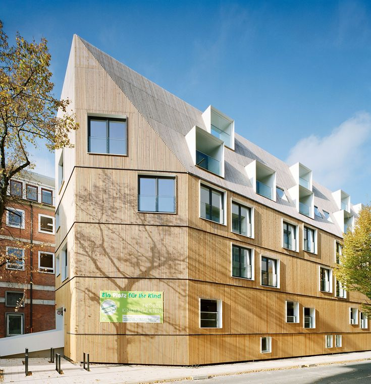 "Projekt ""KITA Winterstraße, Hamburg"" I DE-22765 Hamburg   Architekten: LH Architekten I competitionline"