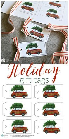 Free Holiday Gift Tags Delores Payseur