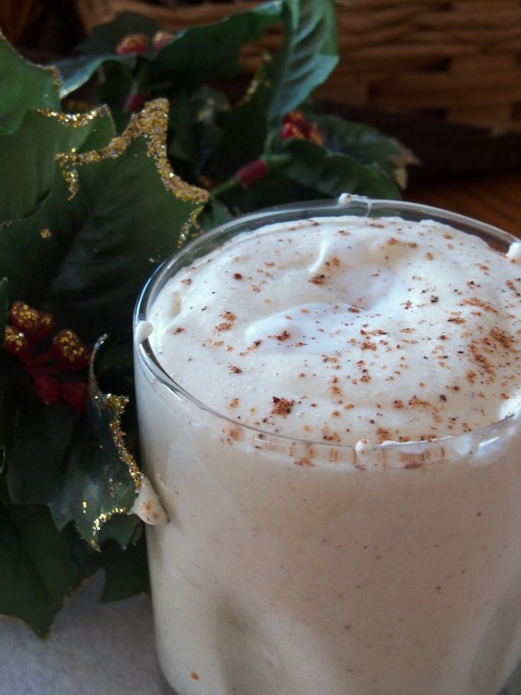 Paleo Eggnog | Cook It Up Paleo
