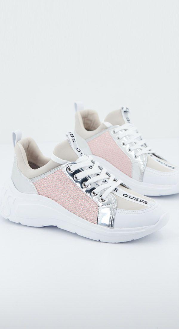 Noroeste para servir  GUESS SPEERIT PLATA Zacaris zapatos online. | Zapatos guess mujer, Zapatos  guess, Zapatillas guess
