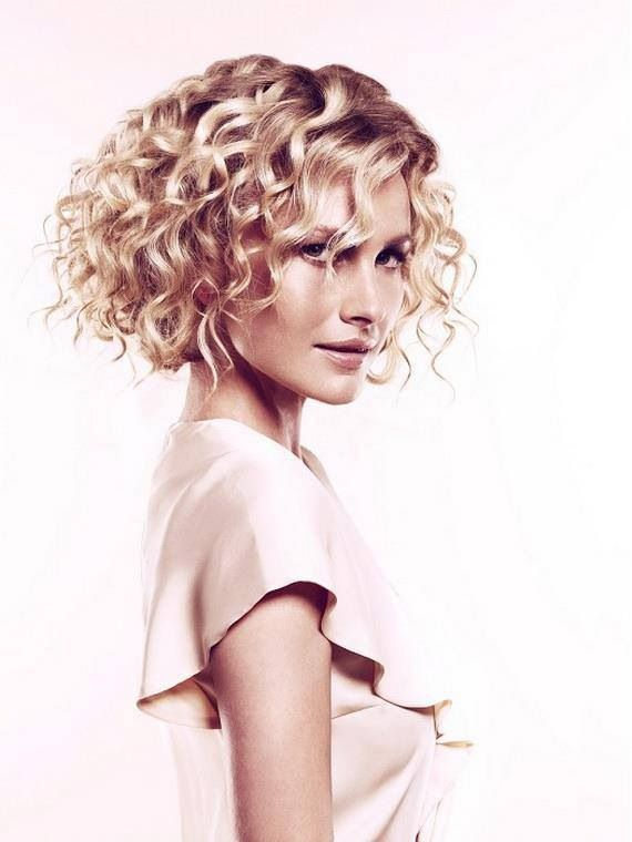 Beautiful curls. (But not natural! Some assembly required!)