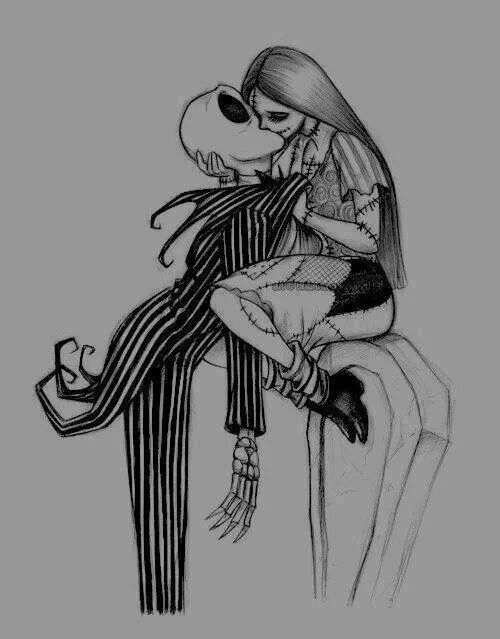 jack skellington and sally as a child i went to see the nightmare before christmas when it was in theaters this movie has been artfully inspiring me