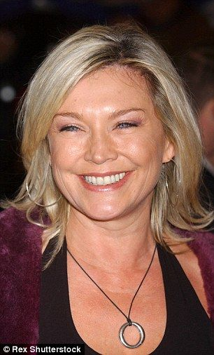 Helping hand: Amanda Redman has admitted she has resorted to some new tricks to help hold ...