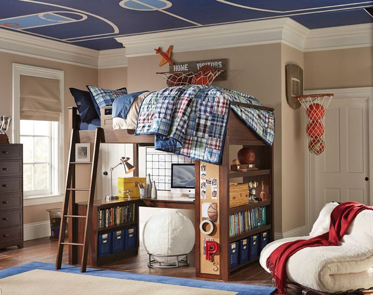 17 best ideas about guy bedroom on pinterest office room for Boys basketball bedroom ideas