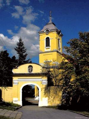 Slovakia, Starý Tekov - Church