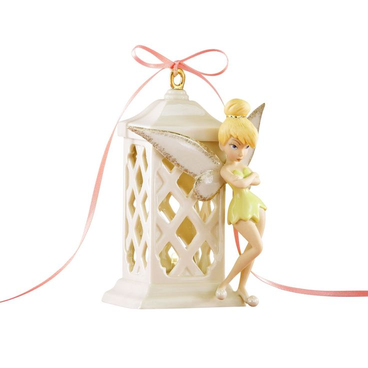 Peter Pan Pixie Bright Lighted 60th Anniversary 2013 Tinkerbell Lenox