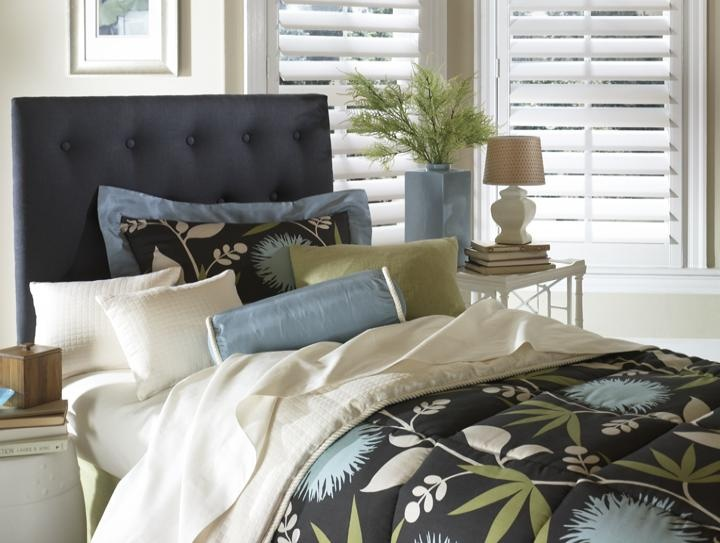 Contemporary Bedding from Budget Blinds in Grimsby