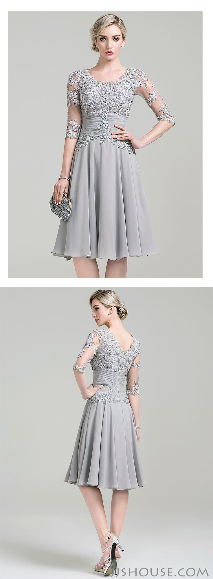 17 Best Images About Silver Anniversary Dresses On