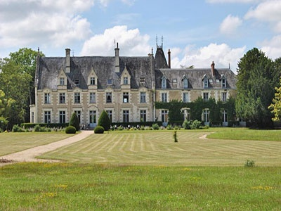 French Chateau for sale in 41 - Loir et Cher , Val de Loire France. Situated in the Loire Valley just 2 hrs from Paris, this splendid Chateau dating from the 17th and 18th Cs is ideally placed for a tourist project. The facilities include a restaurant and conference rooms, with about 60 cabins in the 23 ha grounds, as well as a swimming pool and play areas. The property is located on the edge of a village, in beautiful, unblighted, rolling countryside. 15 mins from a town, 40 mins Tours.
