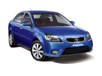 Kia Pride Sedan '2009–11