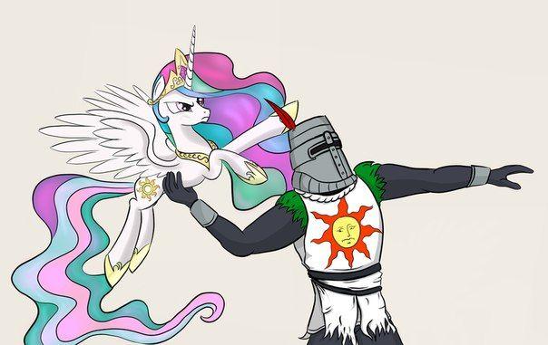 my little pony,Мой маленький пони,mlp песочница,фэндомы,Dark Souls,mlp crossover,Princess Celestia,Принцесса Селестия,royal