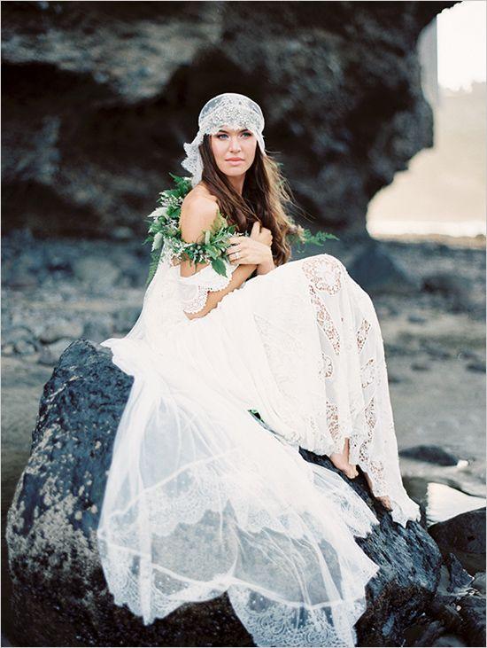 beach bridal session captured by Erich McVey #beachbridals #bridalsessiontips #weddingchicks http://bit.ly/1j2Ab8Z