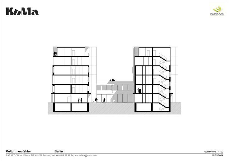 Kuma / Section / Plans / Cultural Center, Berlin, Germany