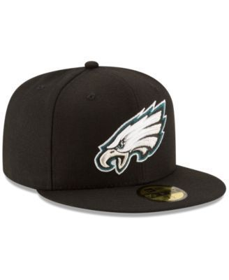 New Era Philadelphia Eagles Team Basic 59FIFTY Fitted Cap - Black 7 3/4