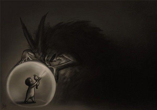 Crawling in the dark in Among the Sleep