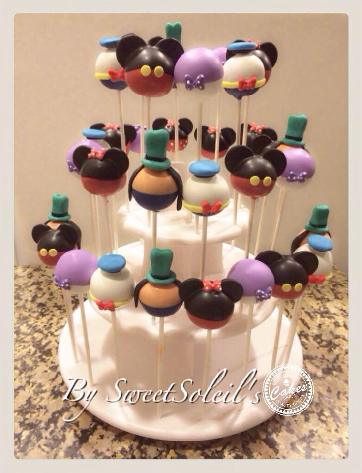 The 25+ best Disney cake pops ideas on Pinterest ...