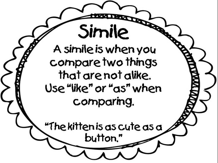 10 best rhetorical device (simile) images on Pinterest
