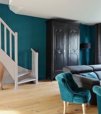 25 Best Peinture Bleu Canard Ideas On Pinterest Deco Bleu Canard Palettes De Couleurs Bleu
